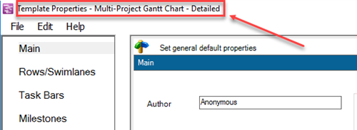 Making Multi Project Graphs From Ms Project Integrated Master